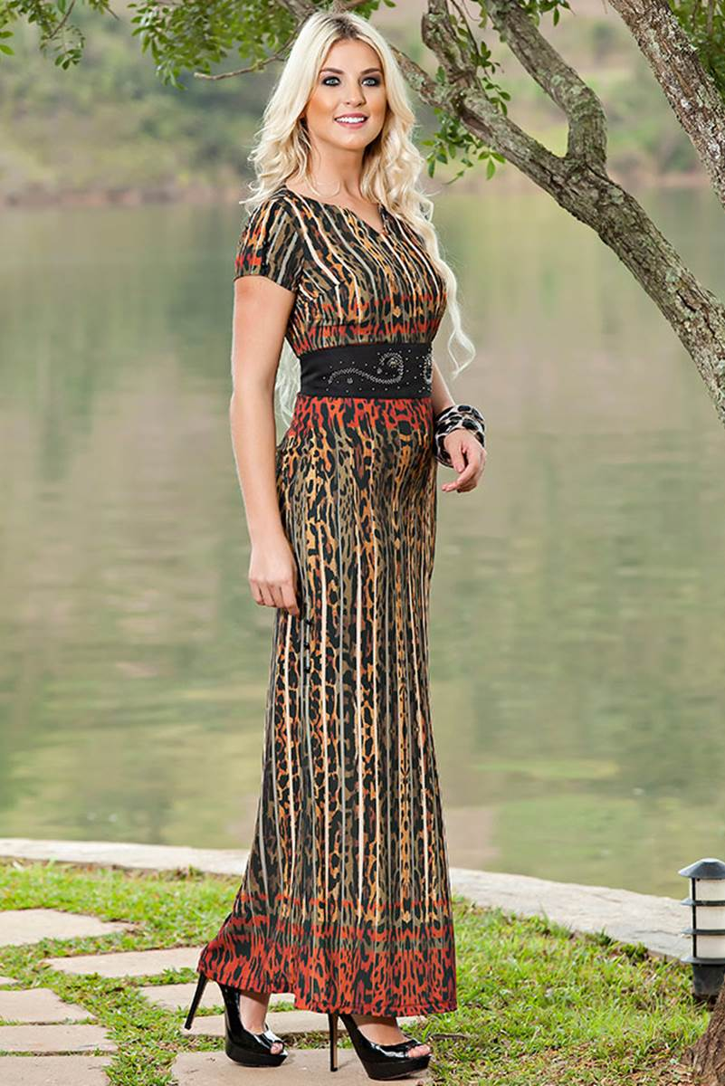 Vestido Kauly Selva 1740