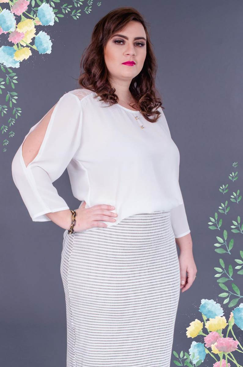 Blusa Modaris White 34022