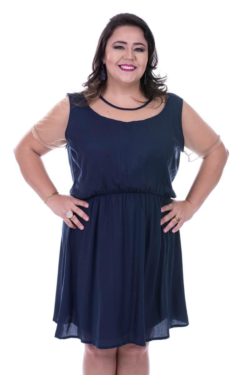Vestido modaris Marinho 34036