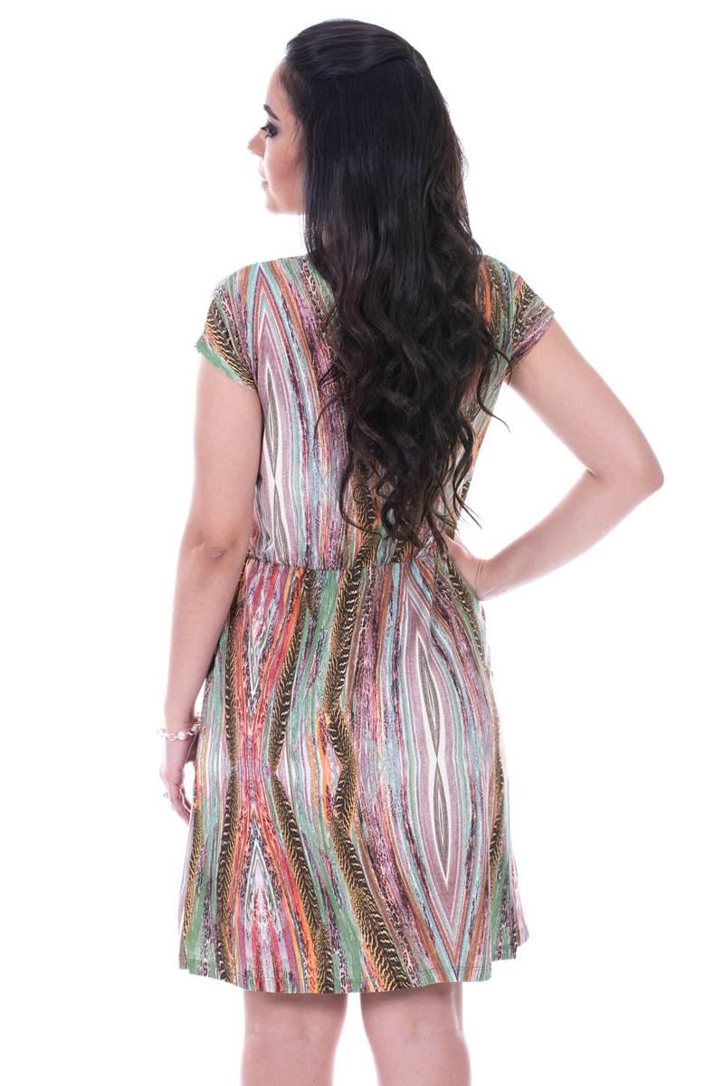 Vestido Modaris Marrom 34078
