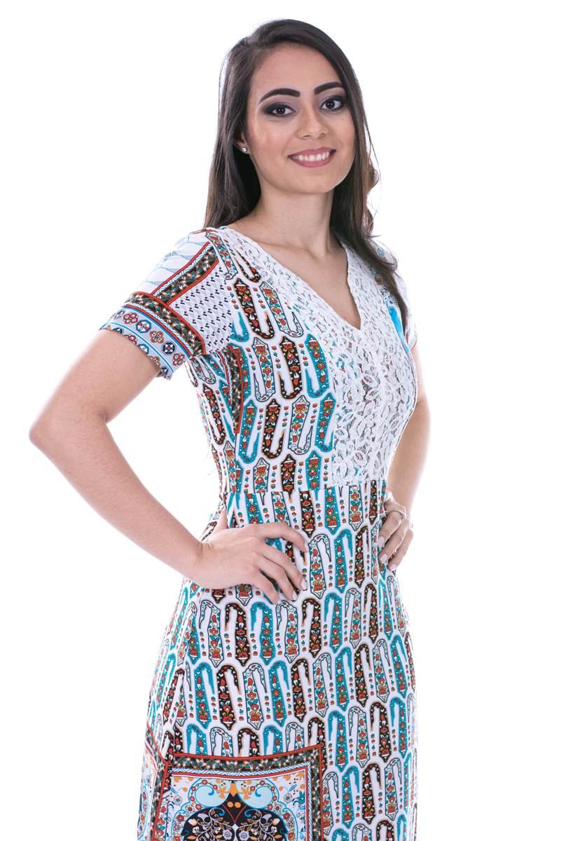 Vestido Modaris Azul 34074