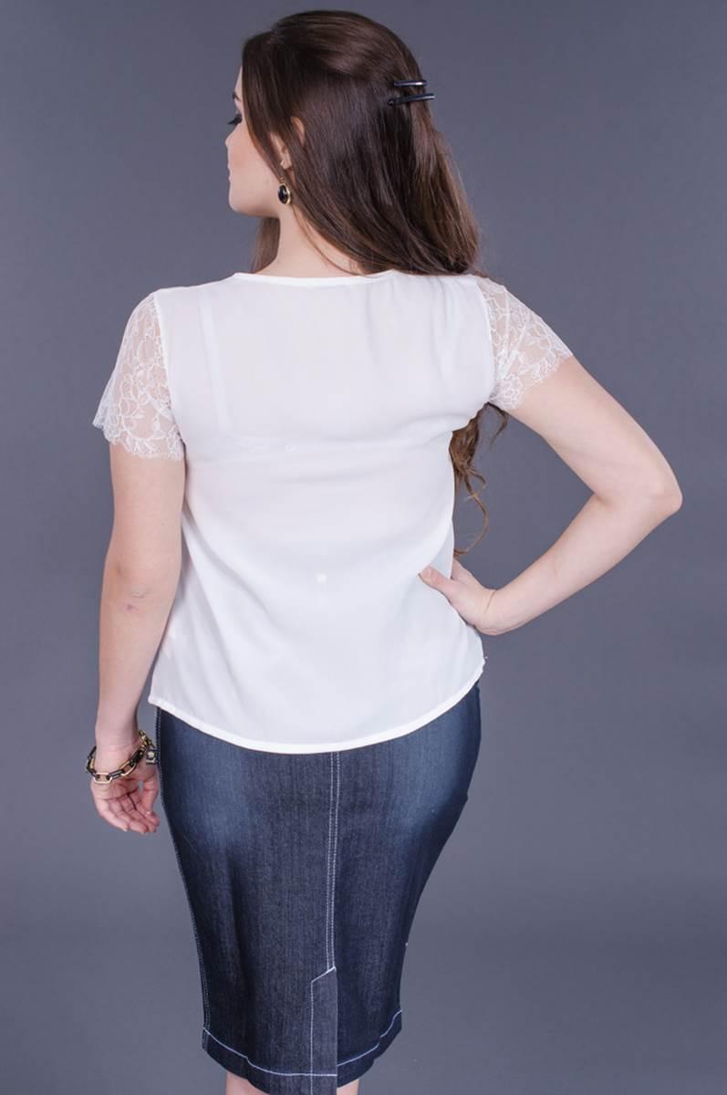 Blusa Modaris White 34055