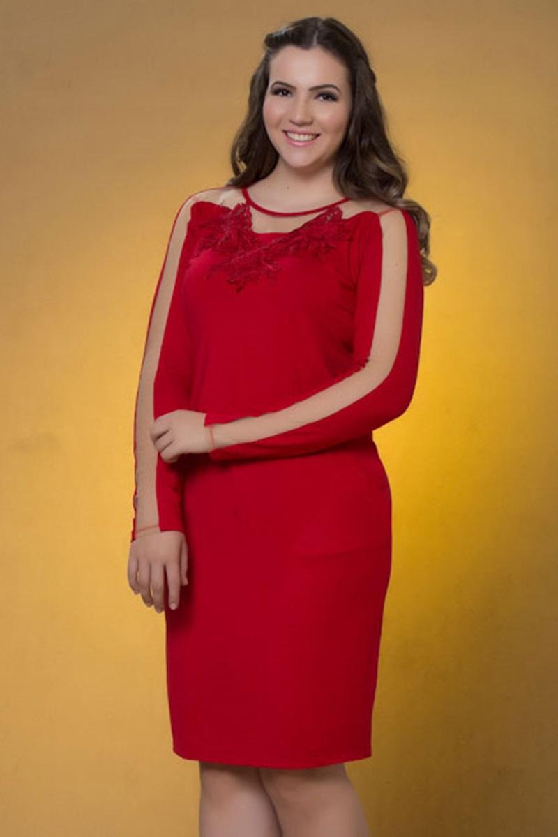 Vestido Marian Vermelho 59083