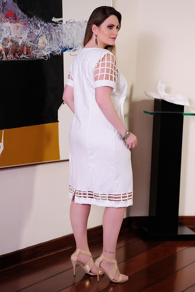 Vestido C�ssia Segeti Jacquard 980