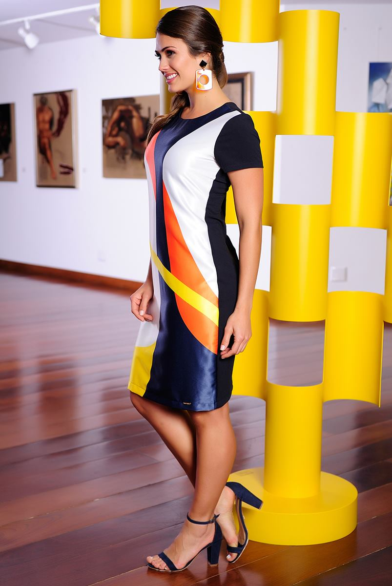 Vestido Cássia Segeti Estampa 987