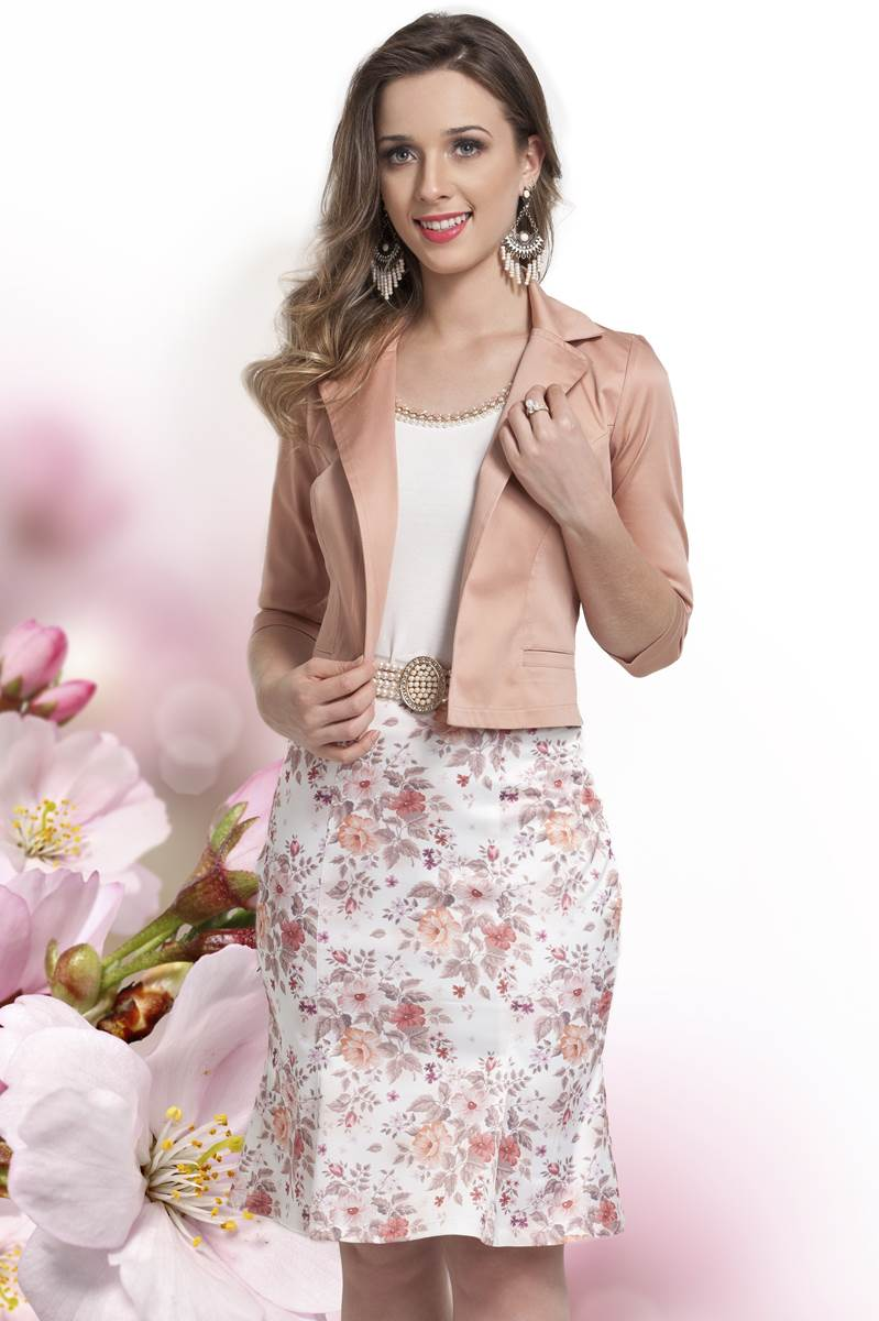 Conjunto Bella herança Floral 6735