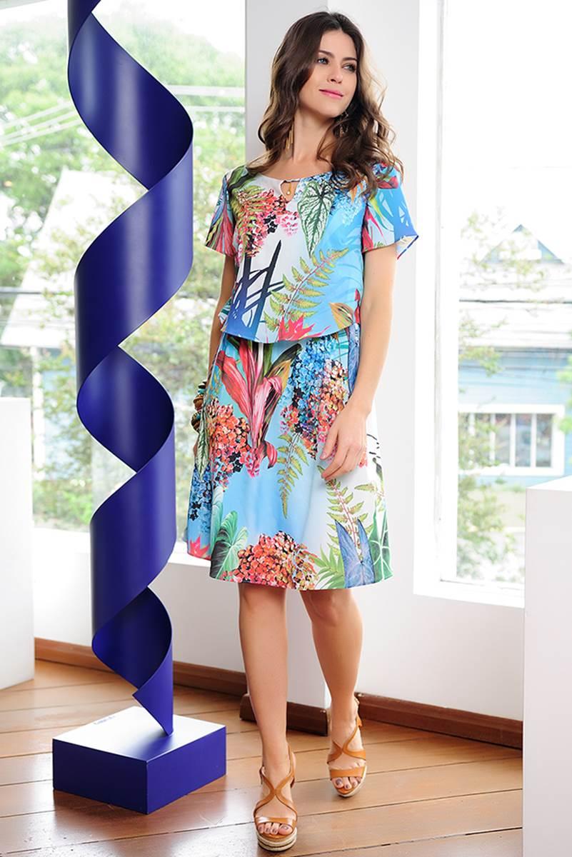Vestido Cássia Segeti Floral 1034