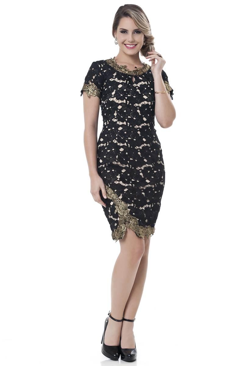 Vestido Anna Bella Herança 2225