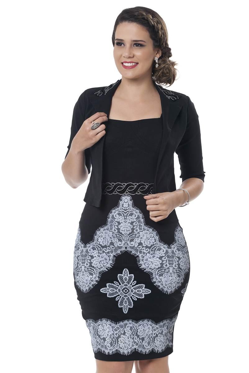 Vestido Victoria Bella Herança 2252