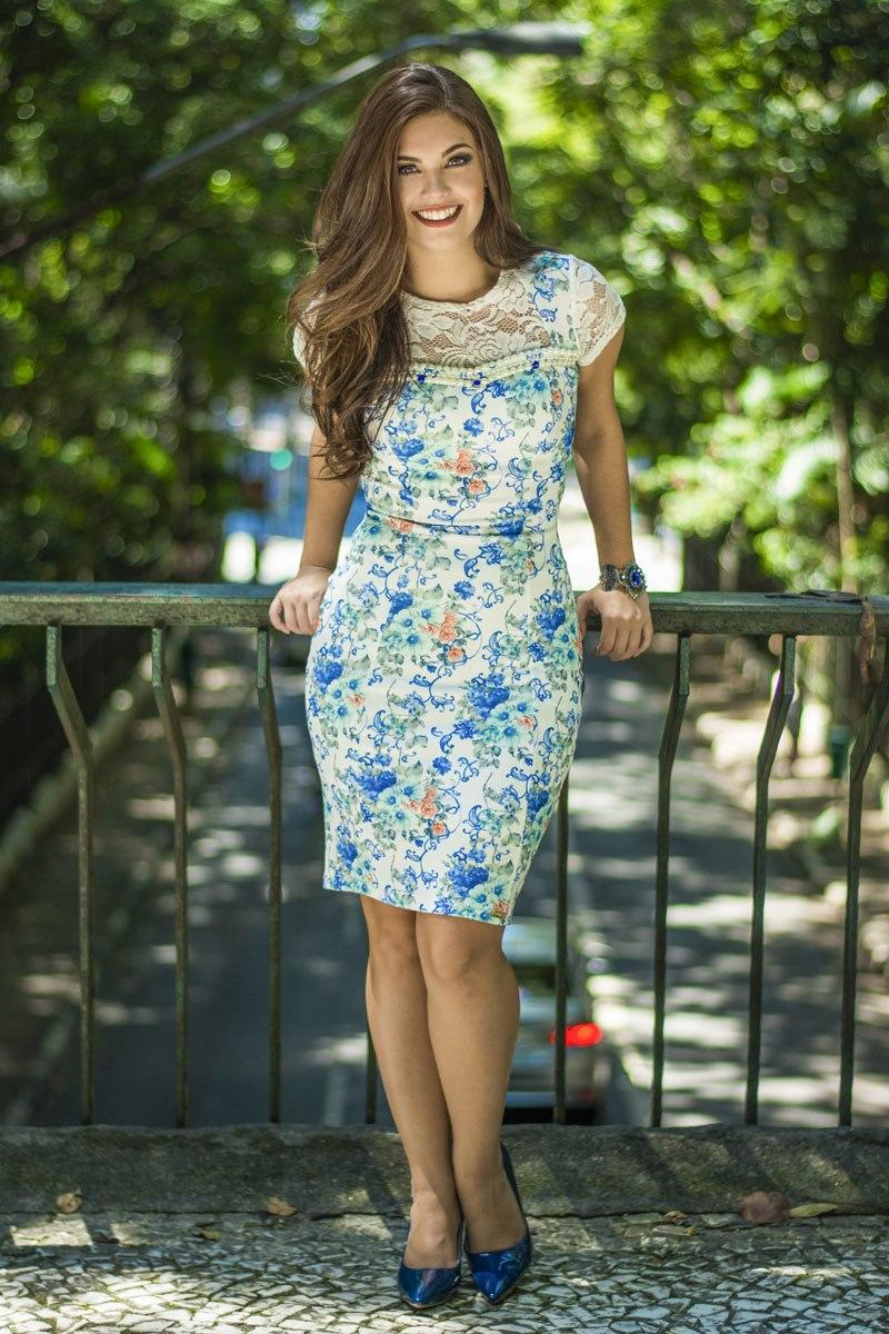 Vestido Elaine Simmone Carvalho -  SC7