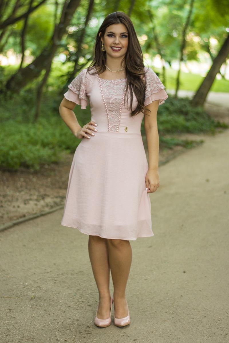 Vestido Helena Simmone Carvalho - SC13