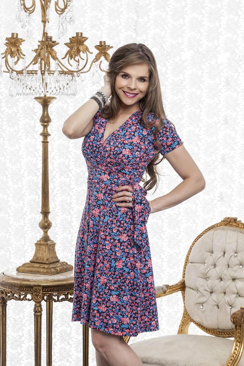 Vestido Bella Heran�a Malha Fluity 5829