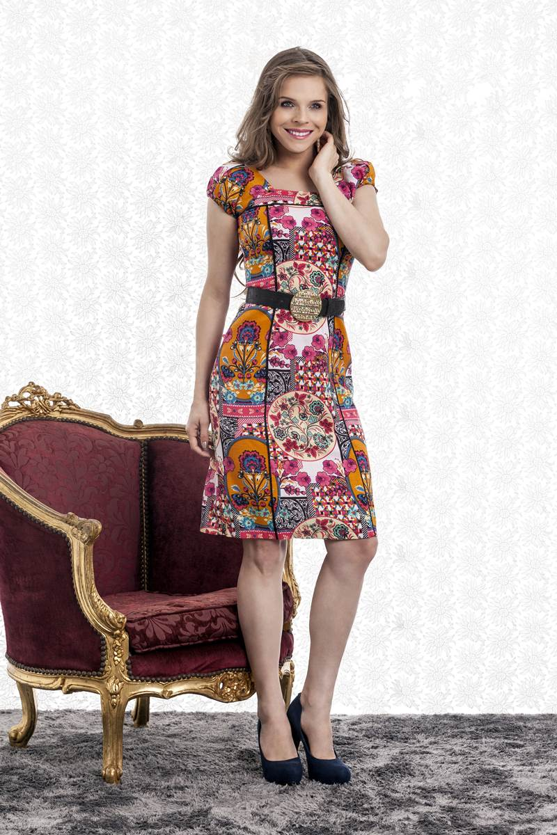 Vestido Bella Heran�a Floral 5840