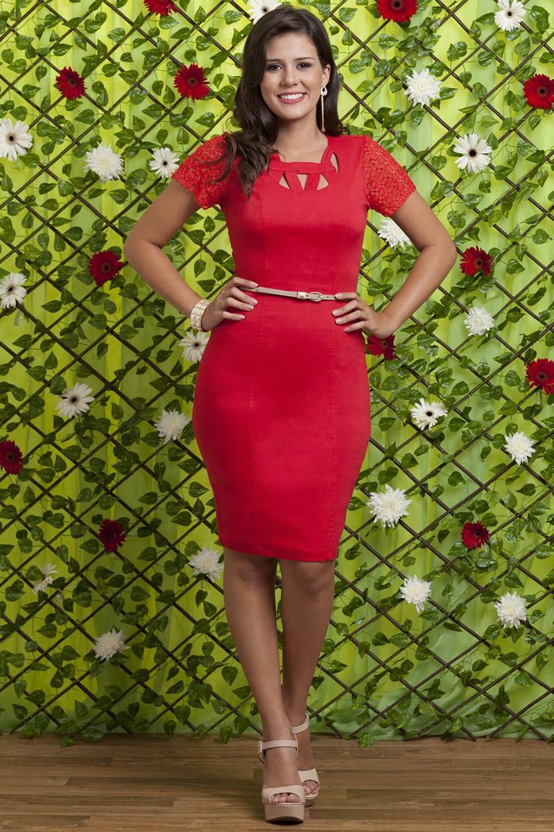 Vestido Bella Heran�a Bogarim 5901