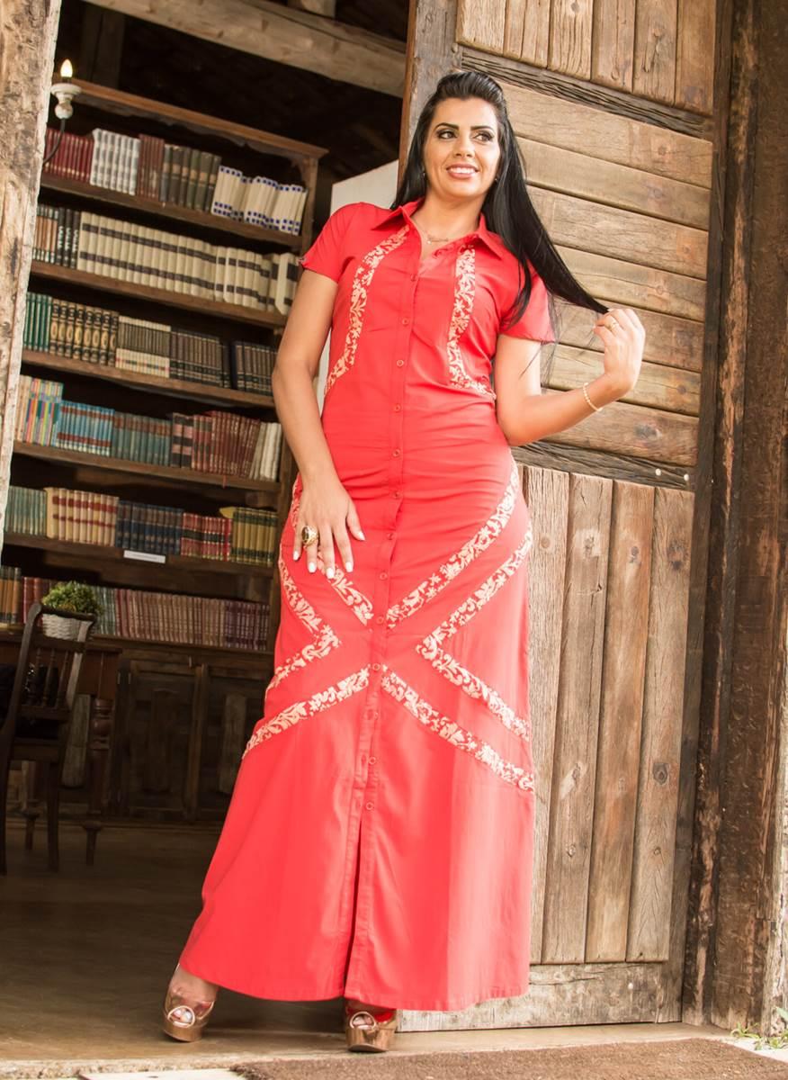 Vestido Kabene Jeans Red 4715
