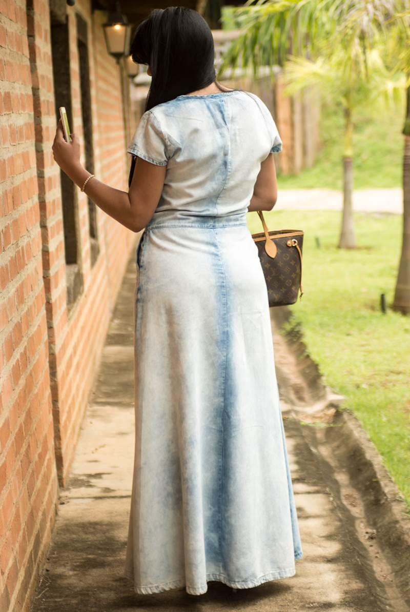 Vestido Kabene Jeans Formal 4795