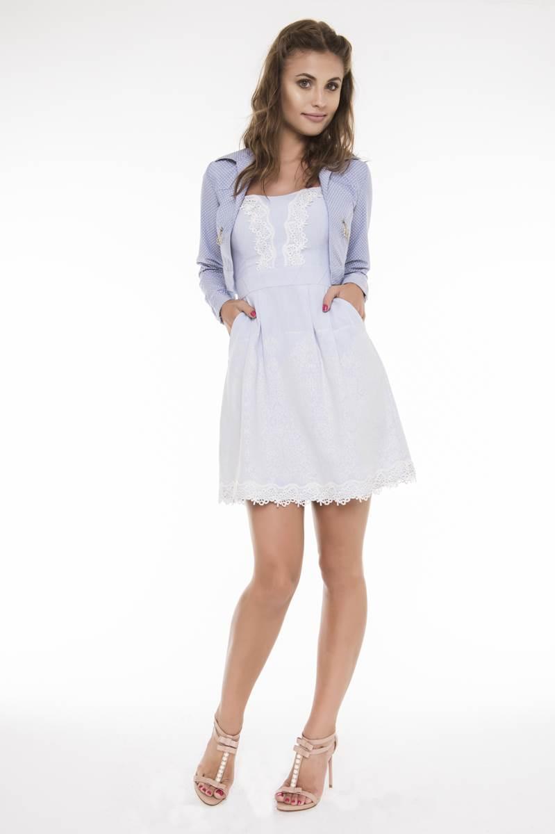 Vestido Fascinius Pregas Niara 9102