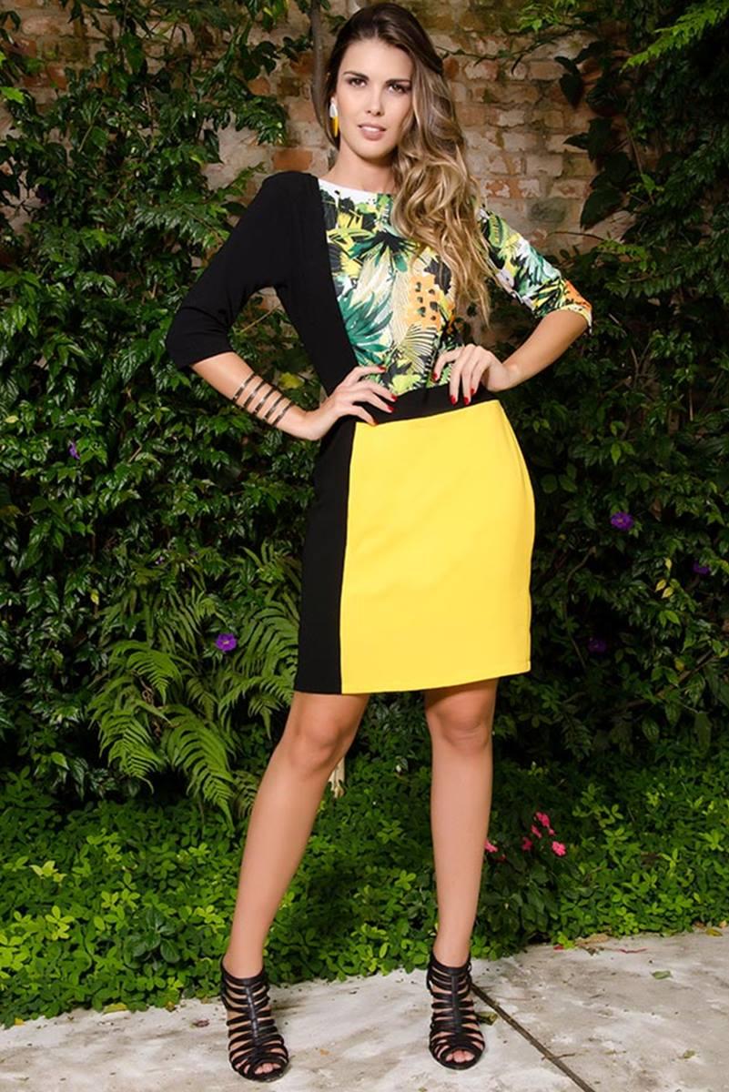 Vestido C�ssia Segeti Daisy Igel 969