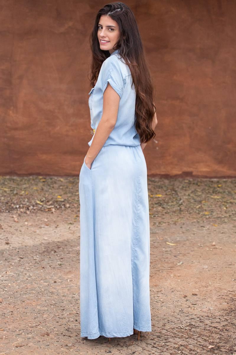 Vestido Kabene Jeans Flare 4811