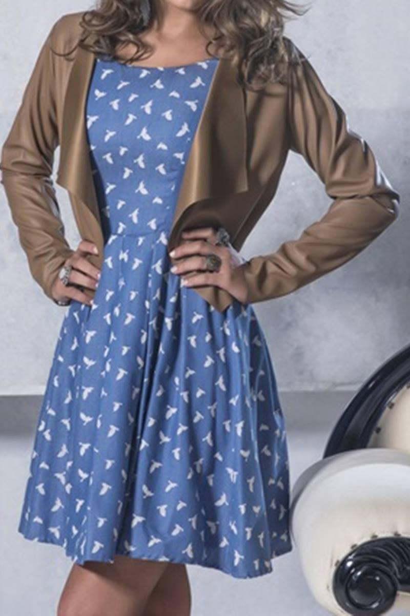 Vestido Mulata Caf� Kate Middleton 3004
