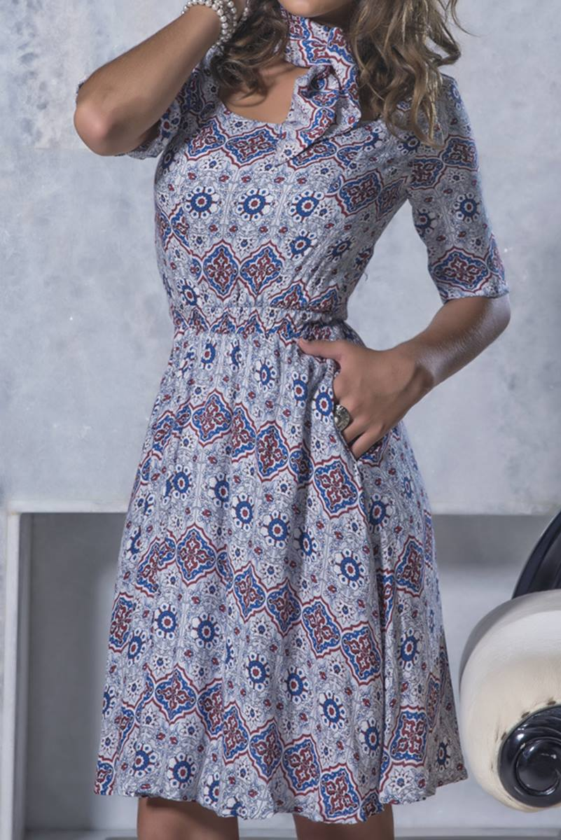 Vestido Mulata Café Duquesa 3013
