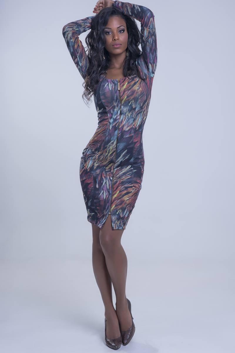 Vestido Mulata Café Princesa Jasmine 3112