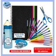 Kit2 Escolar - Meninos 135 Etiquetas Adesivas