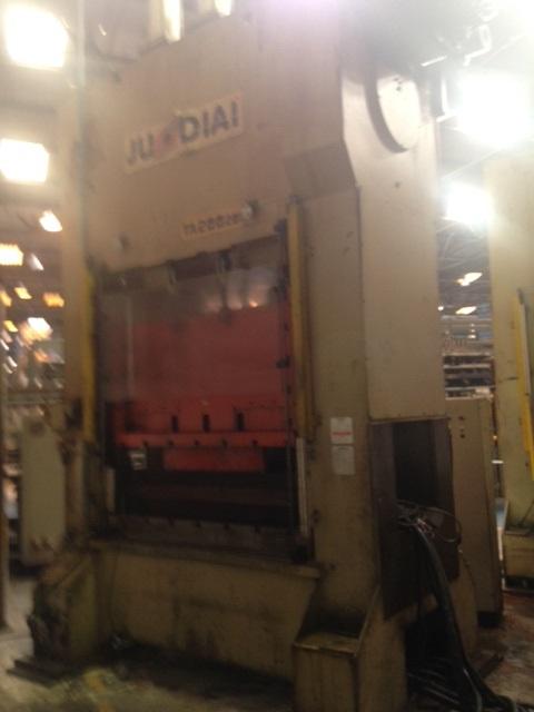 Prensa Exc. Freio e Fricção  Jundiaí 200 ton