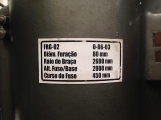 Furadeira Radial Fuso 80  - AEG Comercial