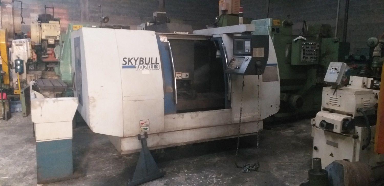 Centro de Usinagem CNC Diplomat Skybull 1020L3