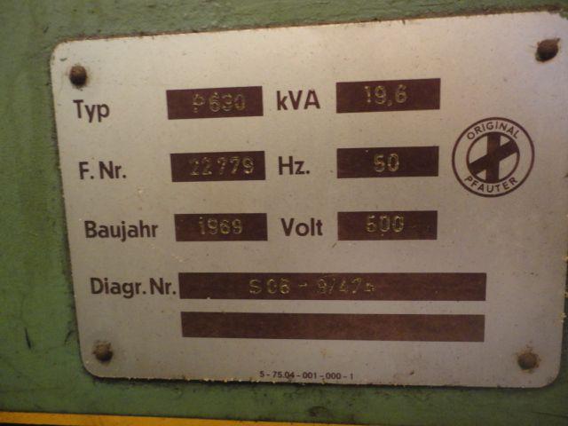 Fresadora de Engrenagens HOB Pfauter PA-630   - AEG Comercial