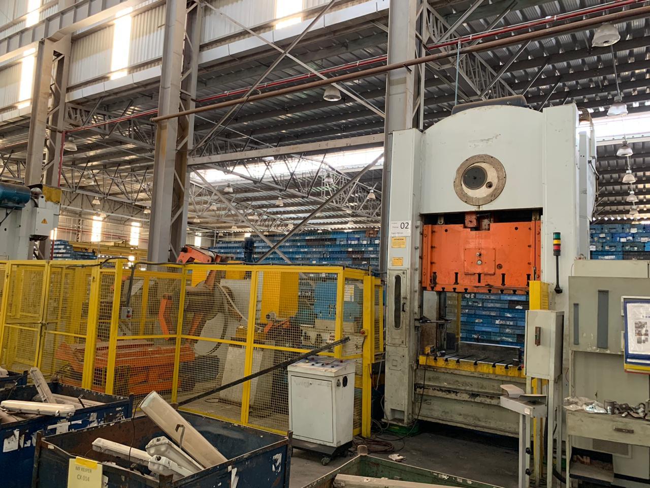 P1-Prensa Excêntrica Fagor, Scm1-2500-1500 100, 250 ton