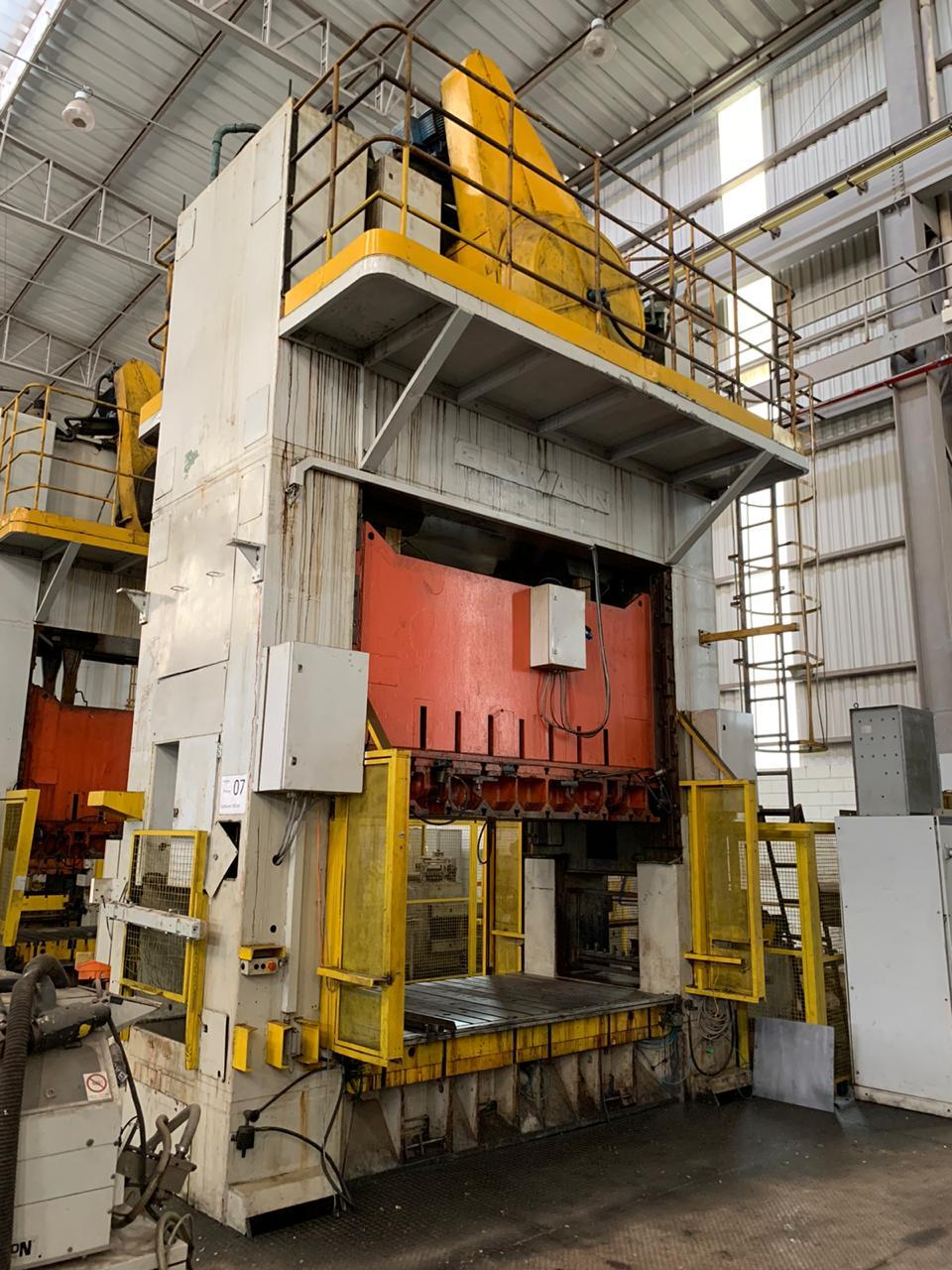 P7-Prensa Excêntrica H Gutmann 400 ton, 2800mm x 1600mm  - AEG Comercial