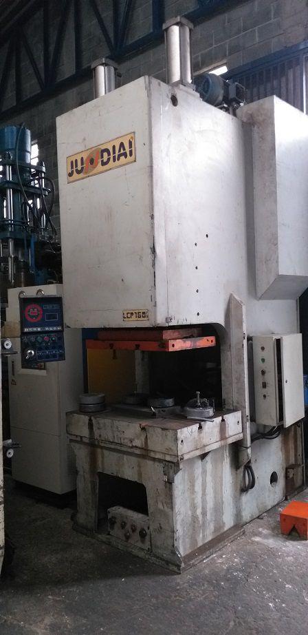 Prensa Exc Freio Fricção Jundiaí 160 ton