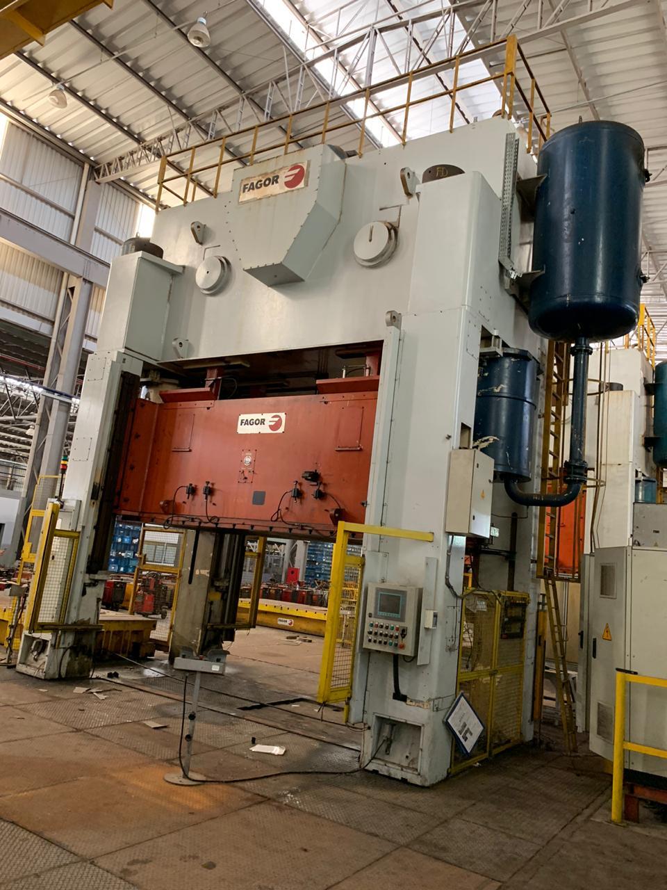 Prensa Excêntrica tipo H Fagor 800 ton, 4300mm x 2000mm
