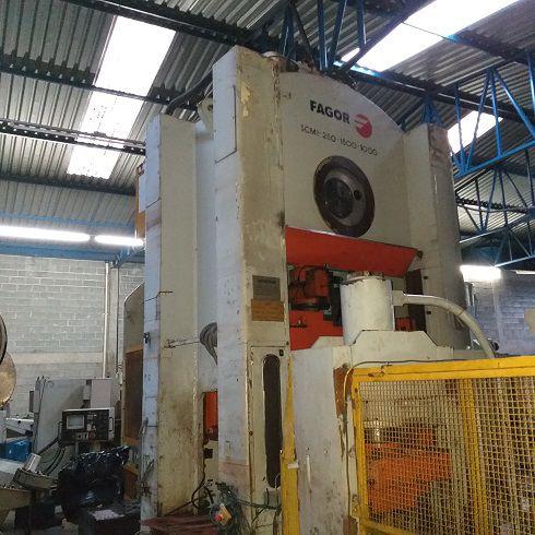 Prensa Freio Fricção Fagor 250 ton