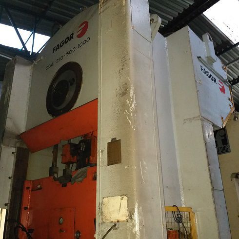 Prensa Freio Fricção Fagor 250 ton  - AEG Comercial