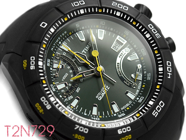 8638df97c15 RELÓGIO TIMEX MASCULINO IQ ALTÍMETRO T2N729SU TI PRETO - Multishop Virtual