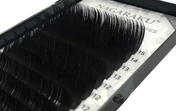 Cílios Nagaraku Mix Tamanhos ( 7 Ao 15mm)  Espessura 0.20c