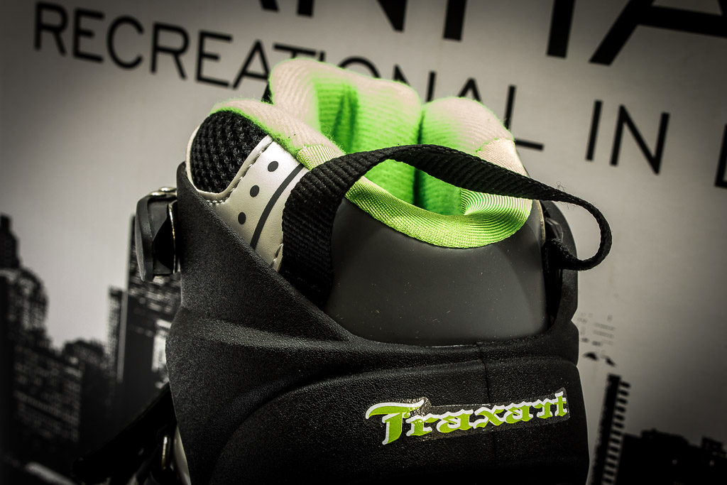 Patins Traxart Manhattan Black - Rock Shop Skate Megastore
