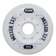 Roda para Patins  Mixxer Traxart 80 mm dureza 85A - Jogo com 4 rodas