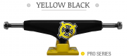 TRUCK INTRUDER PRO SERIES YELLOW / BLACK 129 MM MID