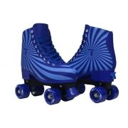 PATINS TRADICIONAL REGULÁVEL TRAXART MAGIC AZUL