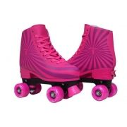 PATINS TRADICIONAL REGULÁVEL TRAXART MAGIC PINK
