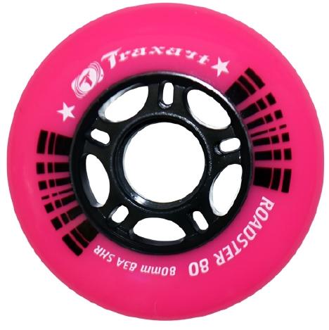 Rodas Traxart para Patins 80 mm jg com 04 rodas  - Rock Shop Skate Megastore