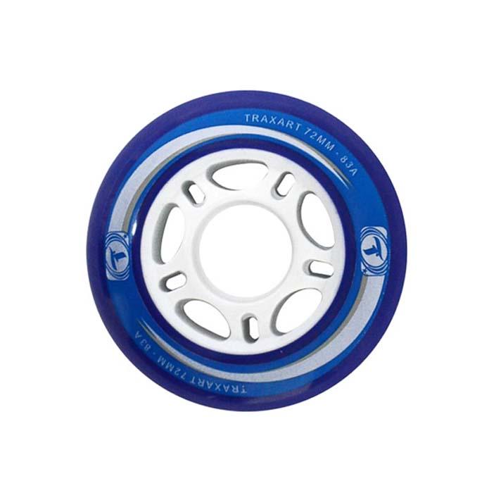 Rodas Traxart para Patins 72 mm jg com 04 rodas  - Rock Shop Skate Megastore