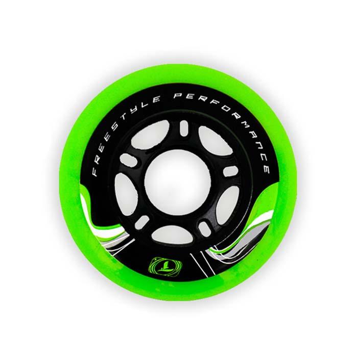 Rodas Traxart Krazyleg 83A jg com 04 rodas  - Rock Shop Skate Megastore