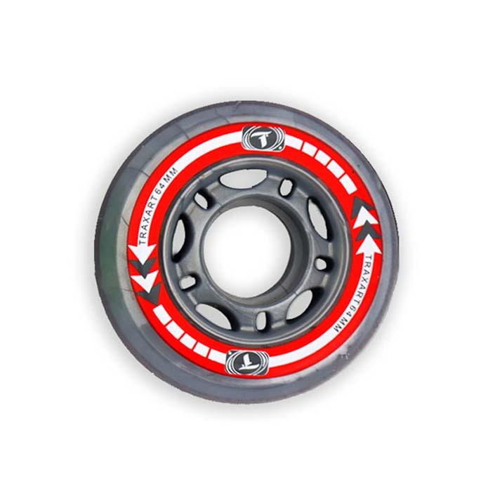 Rodas Traxart  64 mm jg com 04 rodas  - Rock Shop Skate Megastore
