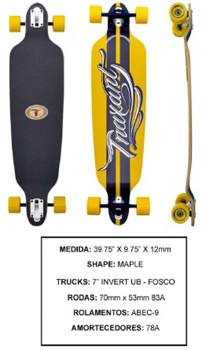 Longboard Traxart DP-002  - Rock Shop Skate Megastore