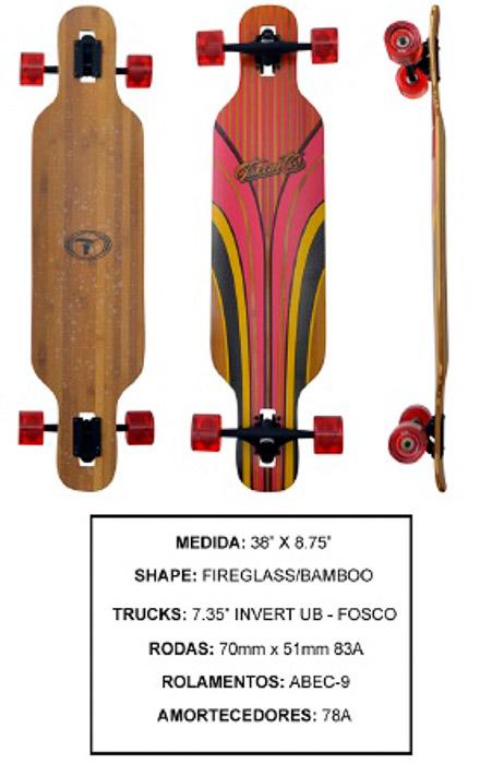 Longboard Traxart DP-003  - Rock Shop Skate Megastore